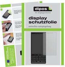 2x Blackberry Key 2 Screen Protector Protection Anti Glare dipos