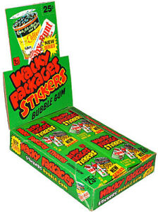 1980 Topps WACKY PACKAGES Series 4 Single Stickers - You Pick-Complete your set
