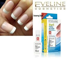 EVELINE  NAIL THERAPY TOTAL ACTION 8 in 1 HARDENER Strong Nails
