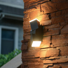 LED Applique Murale Extérieur & intérieur 13W 590LM réglable gris foncé IP54