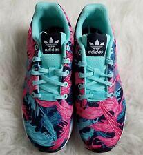 wholesale dealer 03606 887c1 Adidas ZX Flujo TORSIÓN Zapatillas deportivas para mujer talla 5.5 Multi