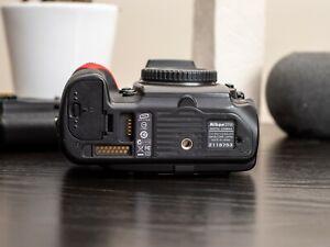 Nikon d700 body + grip