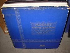 FINE ARTS QUARTET / MOZART string quartets ( classical ) 3lp box concert disc
