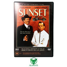 Sunset (DVD) Bruce Willis - James Garner - Action Comedy Crime - Rare OOP Reg 4