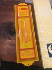 Thermoshell Heating Fuel Thermometer, Canada, Shell Oil, Petroliana, NOS