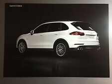 Porsche Cayenne S E-Hybrid SUV Showroom Advertising Poster RARE L@@K