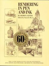 Rendering in Pen and Ink: The Classic Book on Pen and Ink Techniques-ExLibrary