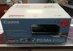 New Sealed Box Canon PIXMA IP4500 Digital Photo Inkjet Printer (2171B002)