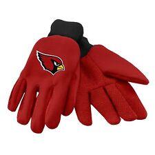 Arizona Cardinals Gloves Sports Logo Utility Work Garden NEW Colored Palm