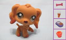 Littlest Pet Shop Dog Cocker Spaniel 716 Free Accessory Authentic Lps US Seller
