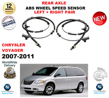 PER CHRYSLER GRAND VOYAGER 2007-2011 2 x POSTERIORE ABS Set SX E DX