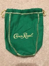 "Crown Royal Bag - Apple- ""New"" 750 Set Of Ten"