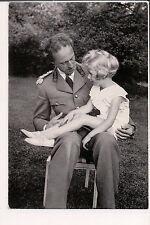 Vintage Postcard King Leopold III & Son