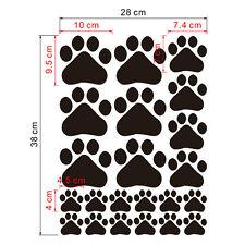Cute Dog Paw Print Vinyl Removable Vinyl Waterproof Baby Room Wall Sticker