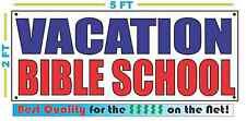 VACATION BIBLE SCHOOL Banner Sign NEW