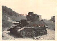 Engl. Panzer Vickers Light Tank MK VI erbeutet bei Halstroff Frankreich
