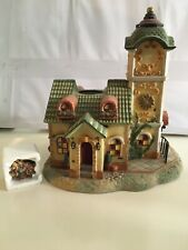New listing PartyLite Old World Village Collection The Clocktower P7887 Mint in Box Complete