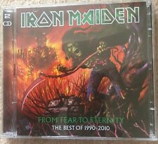 Iron Maiden From Fear To Eternity Best Of 1990-2010 2 CD Set
