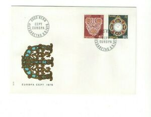 1976 SWITZERLAND - EUROPA CEPT FDC FROM COLLECTION N28
