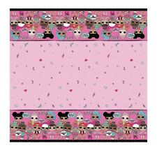 L.O.L. Surprise Doll Table Cover Cloth Disposable Birthday Party LOL Favor 1 2 3