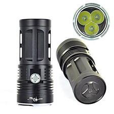 Hohe Leistung 6000Lumen 3T6 3x CREE XM-L T6 LED Taschenlampe 3 Modus 18650