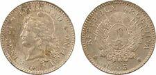 Argentine, 10 centavos, 1883, argent, SPL (UNC) - 45