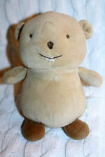 Busy  Beaver Gymboree  2005 Velour Plush Baby  Stuffed Toy Animal HTF sewed eyes