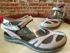 Merrell Aluminum Grey Leather Mesh Siren Wrap Sport Waterproof Sandal NEW