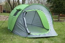 Instant Pop Up Tent, 1-2 Person, For Casual Fun Camping, Ventilated & Portable