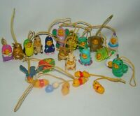 Disney Winnie The Pooh Peek A Pooh Tomy Phone Charms Lot of 18 Plus 6 Inserts