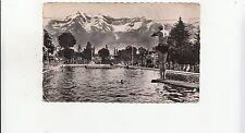 BF25786 tarbes piscine nelly vue du bassin et les pyre  france  front/back image