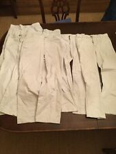Vineyard Vines Youth Khaki Pant Lot Of 6 Size 14 (Stone Color)