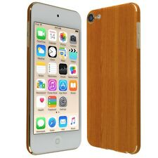Skinomi Light Wood Skin+Clear Screen Protector For Apple iPod Touch 6 (6th Gen)