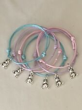 Horse friendship bracelets /& keyrings /&Cord 18 Pieces party bag fillers tom bola