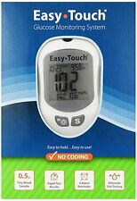 Easy Touch 807001 Glucose Monitor (Expiration 2021-05-18) Free Shipping