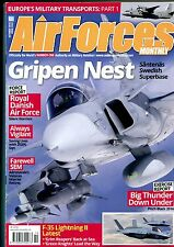 Air Forces Monthly 2016 October Etendard,Denmark,F-35,Gripen,Su-24
