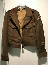 Two WWII jackets/shirt