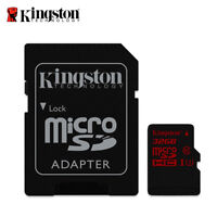 Kingston Canvas React 32GB microSDHC UHS-I U3 Speicherkarte für 4K Camcorder