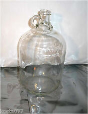 Vintage 160 FL. OZS. Wine, Moonshine Jug,  Clear Glass, Made in Canada, 2206