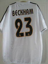 Real Madrid 2003-2004 Beckham 23 Home Football Shirt Talla Xl / 39054