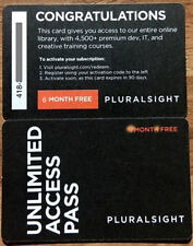 Pluralsight 6-Months PLUS Membership