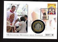 Vatikan 1742 Papst Benedikt XVI. Weltfamilentreffen 2012 in Mailand