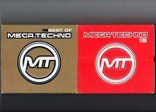 Mega techno 16 & best of - 2x 4cd Box-techno hardtechno Makina-tbfwm