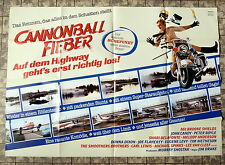 CANNONBALL fever / speed zone * A0-FILM POSTER XXL labeling 2-sheet ´ 89 PETER BOYLE