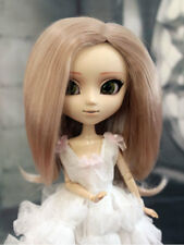 "1/6 bjd 9-10"" doll head beige blonde wig dollfie Feeple65 Soom ID Pullip JD078XL"
