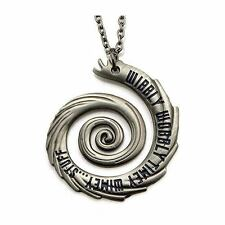 "Doctor Who Wibbly Wobbly Timey Wimey Pendant Unisex Necklace 18"" by Body Vibe"
