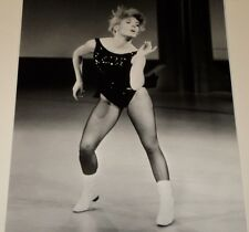JOEY HEATHERTON IN LEOTARD WITH WHITE GO-GO BOOTS /  8 X 10  B&W  PHOTO