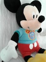 """Mickey Mouse Disney Clubhouse Talking Singing Plush Toy 13"""" Just Play"""