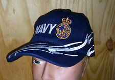 NAVY WAVE BALL CAP - ROYAL AUSTRALIAN NAVY WITH BADGE ON FRONT