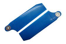 KBDD Pearl Blue 112mm Extreme Tail Rotor Blades Trex 800 Goblin 700 770 #4083